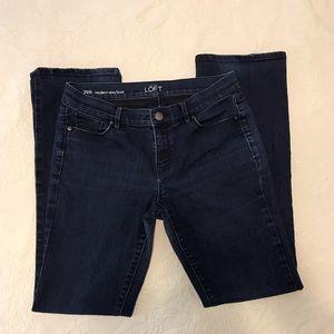 LOFT Modern Sexy Boot Jeans- Size 8